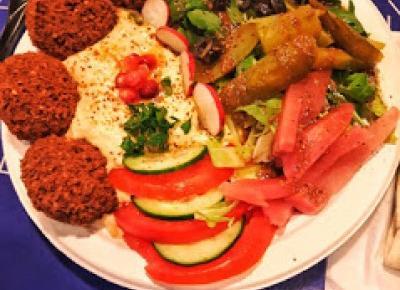 Hummus falafel - Zater Orient