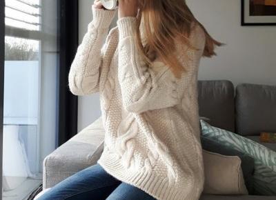 Coraline Grey: Zimowy sweter