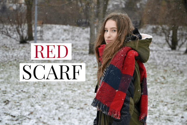 All Pastel World: RED SCARF | CHRISTMAS TIME