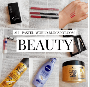 All Pastel World: BEAUTY