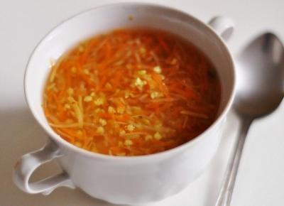 Oczyszczająca zupa jaglana na DETOKS JAGLANY
