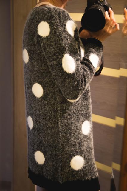 Coś na jesień! Ciepły sweterek Polka Dot - SheIn - Czary-Marty