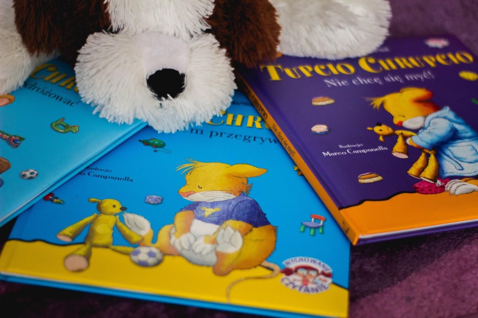 Wychowanie przez czytanie - Tupcio Chrupcio - Czary-Marty