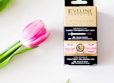 Eveline Lip Therapy Professional - Nieinwazyjny zabieg powiększający usta. - Czary-Marty