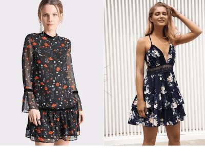 Zwiewne, letnie sukienki - Trendy 2018 - Czary-Marty
