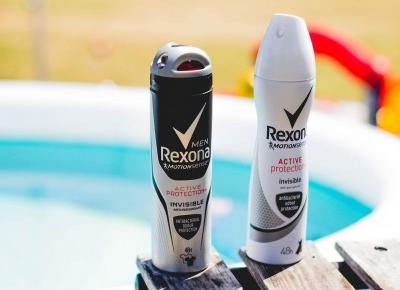 Rexona Active Protection + Invisible - Czary-Marty