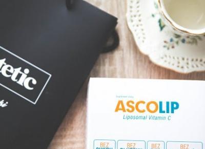 Ascolip - wysokowydajna, liposomalna witamina C - Czary-Marty