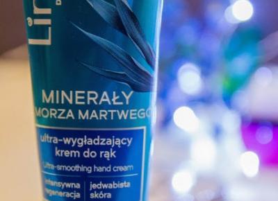 Lirene Minerały z morza martwego - Ultra-wygładzający krem do rąk  - Czary-Marty
