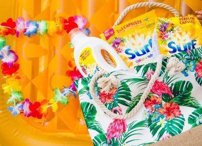 Hawajski sposób na czyste i pachnące pranie z Surf Hawaiian Dream
