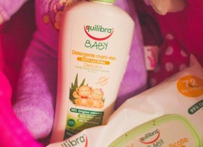 Equilibra Baby Line - Delikatne mydełko do rąk i twarzy oraz delikatne chusteczki oczyszczające - Czary-Marty