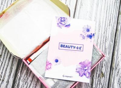 Unbox Beauty Me - InpiredBy U.R.O.K lipiec 2018 - Czary-Marty