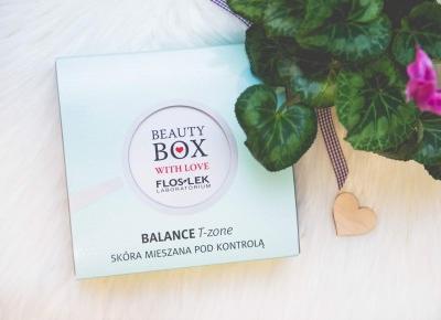 Floslek Balance T-zone - kosmetyki do cery mieszanej  - Czary-Marty