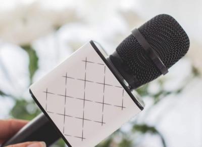 G?o?nik bluetooth z mikrofonem Karaoke - Czary-Marty