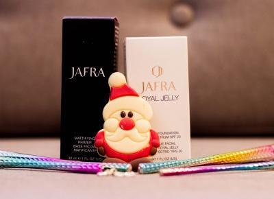 Makijaż z Jafra Cosmetics - podkład i baza pod podkład - Czary-Marty
