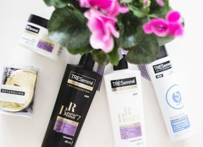 Pielegnacja włosów z TRESemme - Szampon, odżywka i maska do włosów zniszczonych Biotin