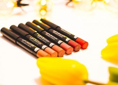 Matowe usta z Hean - Matte Lip Crayon 2 w 1 - Czary-Marty