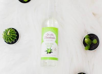 Beaute Marrakech - Woda Aloe Vera Naturalna - Marokosklep - Czary-Marty