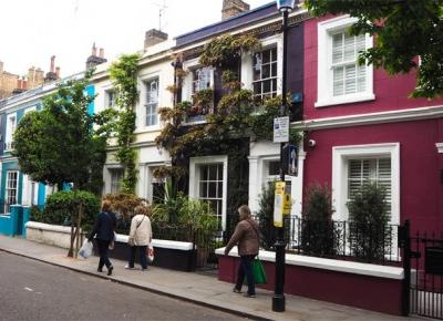 Londyńska dzielnica hipsterów - Notting Hill