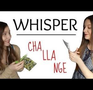 WHISPER CHALLANGE I ZUZUXXBLOG