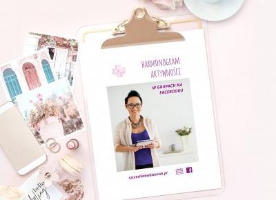 Lista najlepszych grup FB dla kobiet przedsiebiorczych + harmonogram gratis