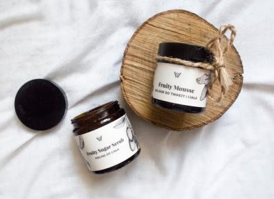 Daily Joanna: WILLOW ORGANICS- PEELING FRUITY SUGAR SCRUB I BALSAM FRUITY MOUSSE