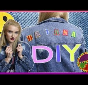 DIY | Kurtka jeansowa z naszywkami