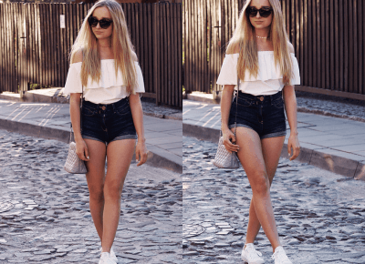 BLUE JEANS & WHITE TOP – DALENA DAILY