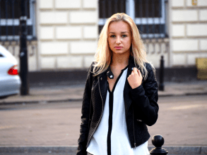 Dalena Daily: LEATHER JACKET
