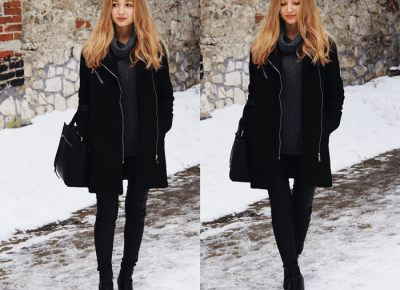 GAMISS COAT IN WINTER OUTFIT – DALENA DAILY