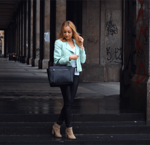 Dalena Daily: MINT JACKET
