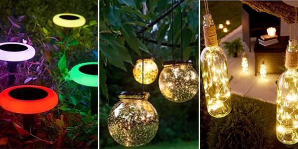 Lampki Ogrodowe DIY - TOP 23 Inspiracje na Oświetlenie Twojego Ogrodu