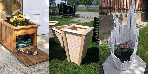 DIY Donice Ogrodowe - TOP 20 Ciekawych Inspiracji i Pomysłów do Twojego Ogrodu