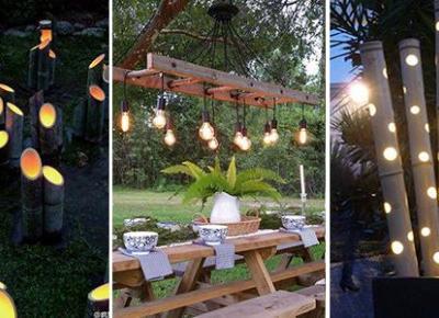 Jak Oświetlić Ogród Tanim Kosztem? TOP 20 Ciekawych Pomysłów na Oświetlenie Ogrodu