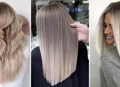 Modne Koloryzacje dla Blondynek - TOP 18 Ciekawych Inspiracji na Włosy Blond