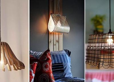 Piękne Lampy DIY - Proste Pomysły na Oryginalne Oświetlenie