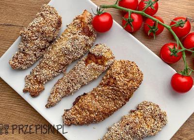 Pieczony Kurczak w Sezamie