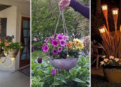Proste Pomysły na Dekoracje DIY do Ogrodu - TOP 20+ Inspiracji Które Musicie Zobaczyć