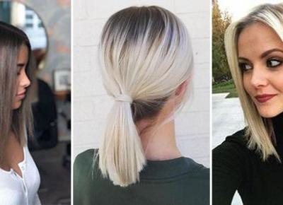 Włosy do Ramion w Modnej Odsłonie - TOP 26 Cudownych Inspiracji na Modne Fryzury Półdługie