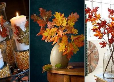 Jesienne Dekoracje - TOP 23 Niesamowite Inspiracje na Jesień do Twojego Domu