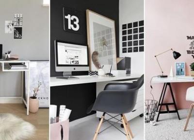 Jak Urządzić Miejsce do Pracy w Domu? - TOP 20+ Ciekawych Propozycji na Kącik do Pracy
