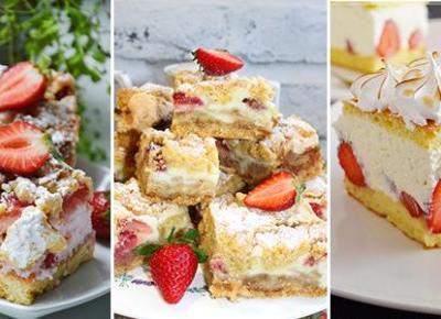 Domowe Ciasto z Truskawkami - TOP 10 Najlepszych Przepisów