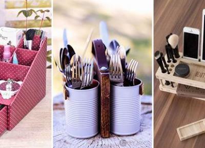 Zorganizuj Swój Dom - Najciekawsze Pomysły na DIY Organizery