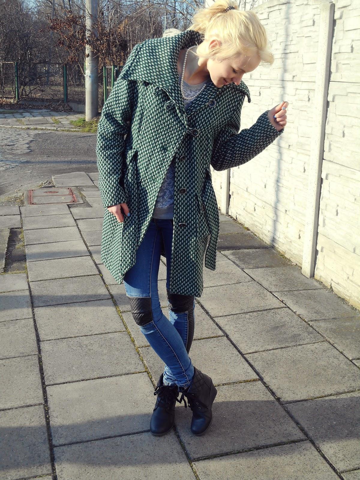 OOTD #2 W roli głównej płaszcz! - 2 x Blonde ♥