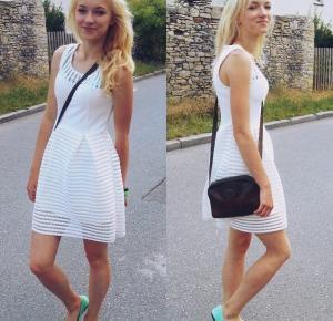 Daja ♥: White Dress ♣ | August |