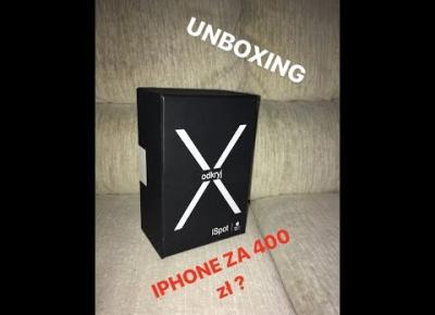 WYGRAŁEM IPHONE X ZA 400 ZŁOTY?/ UNBOXING BOX'A OD APPLE!