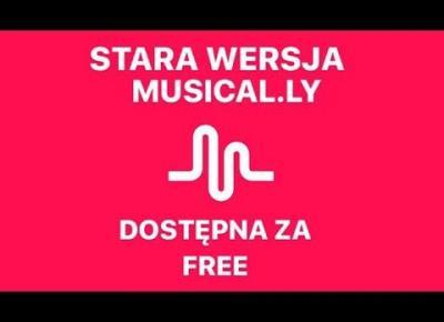 JAK POBRAĆ ZA DARMO STARSZĄ WERSJĘ MUSICAL.LY?/ TIKTOK
