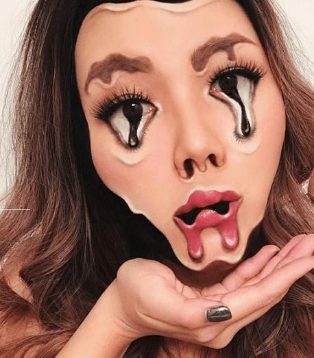 5 najdziwniejszych makijaży ludzkości! Będziesz zaskoczony !