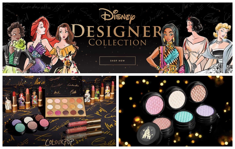 ColourPop wydał serię kosmetyków do makijażu inspirowaną księżniczkami Disneya