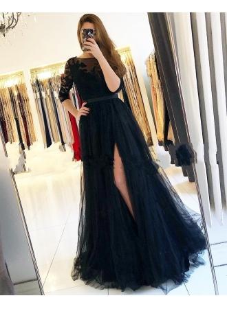 buy online 7d574 b0560 Fashion Abendkleider Lang Schwarz | Abiballkleider Mit ...