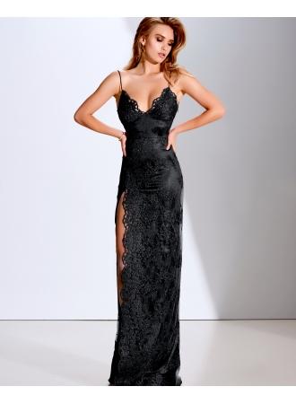 elegante abendkleider lang schwarz  spitze abendmoden onlineabendkleiderkleider für besondere